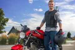 Motorcycle Portrait