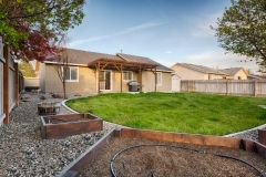 Nampa Home Backyard